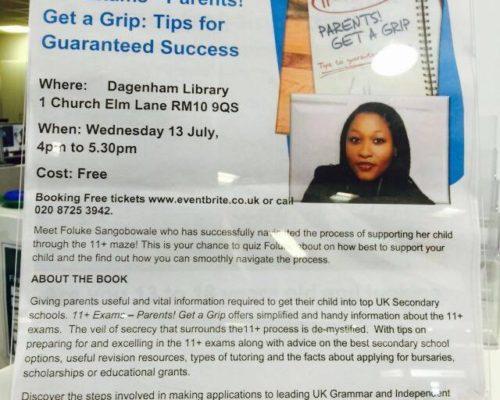 Pen to Print: 11+ Parents Get a Grip with Foluke Sangobowale